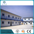 Good insulation prefabricated house used color steel rockwood and glass wood sandwich panel