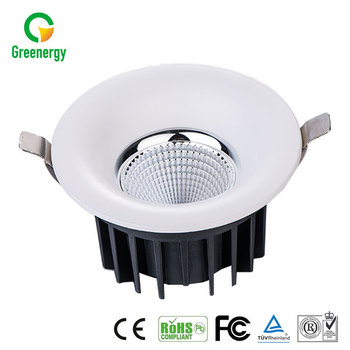 Indoor Commercial Store/shop Light LED COB 20W Downlight High Perfomance With CE RoHS Certificates