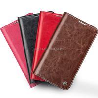 QIALINO Hot sale classic style cover for galaxy note 3 leather case for samsung