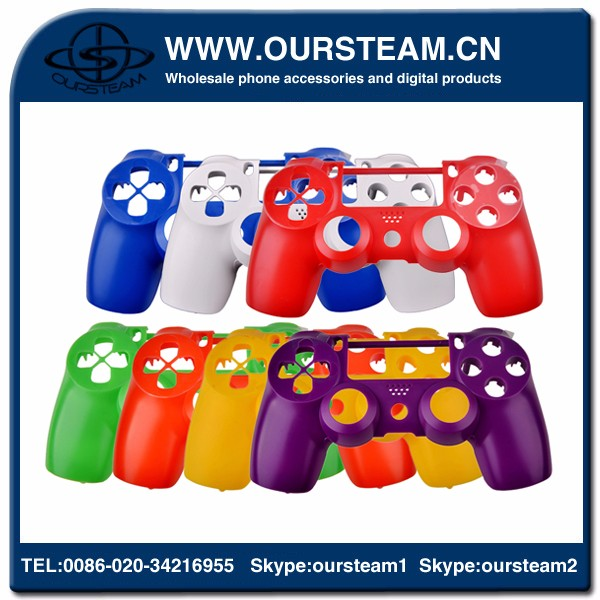 Custom solid shell for ps4 shell for ps4 housing china factory sample order OEM/ODM welcome