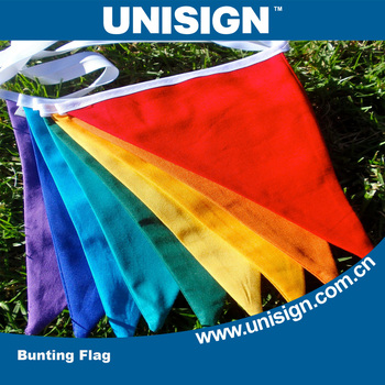Unisign Car Window Mounted Polyester Flag Fabric