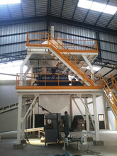 full automatic dry mortar production line