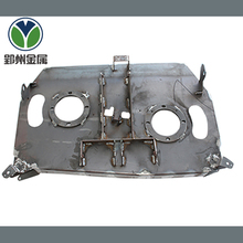 Custom high quality powder coated sheet metal bending and welding fabrication products for machine