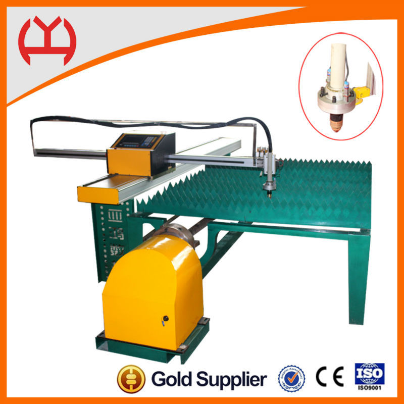 Acetylene/Propane/gas cnc plate and tube metal cutting machine