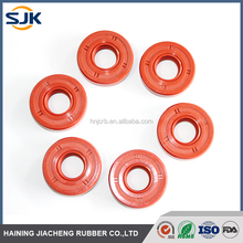 Soft and flexible silicone crankshaft oil seal