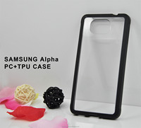 pc+PU case for samsung galaxy alpha