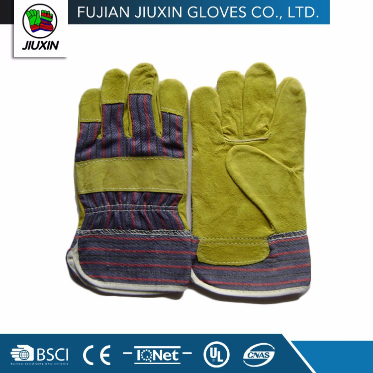 Made In China Multipurpose Hand Seamless Glove Factory Leather