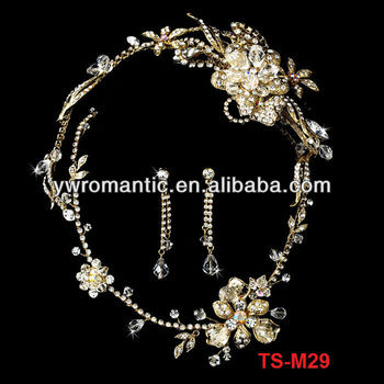 high quality wedding bridal set