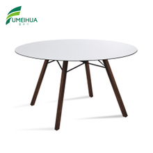 white color matte surface compact laminate table top