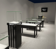 Modern high-end jewelry store glass display cabinet showcase