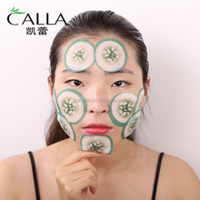 Private label fashion beauty Fruit cucumber eye pads factory