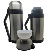 2015 new stainless steel thermos vacuum flask-two sides