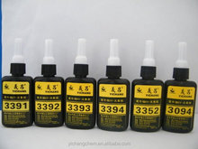fast curing 3393 UV glue for glass to glass and glass to mental