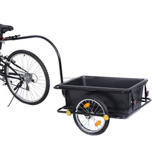 poly bike cargo utility trailer