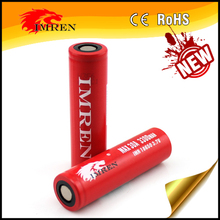 IMREN Battery Cylindrical 18650 Lithium Batteries Li ion 18650 Rechargeable Battery for Power Bank Toys