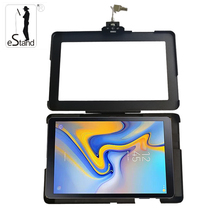 eStand BR24018S105 android 10.5&quot; tablet pc wall enclosure <strong>security</strong> for Samsung Galaxy tab A advertising box