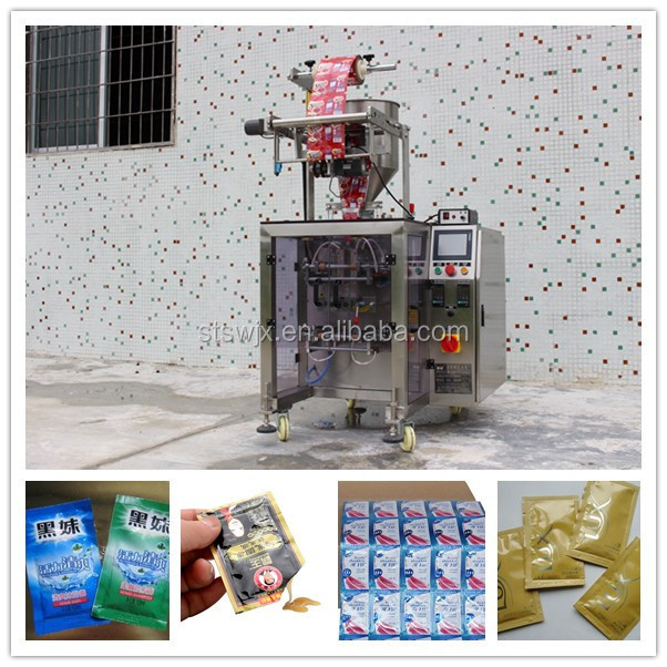 small pouch vertical liquid packaging machinery, viscous liquids packaging machinery
