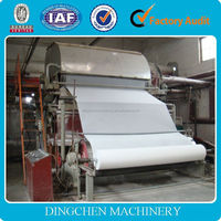 ZhengZhou DingChen toilet papermaking machine for your best choice