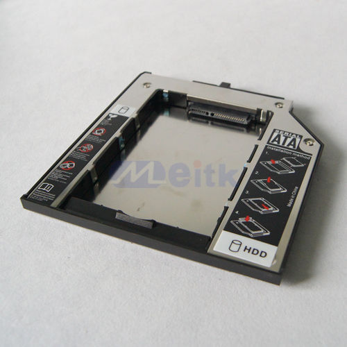 Promotional cheap price 12.7mm SATA 2nd HDD Caddy