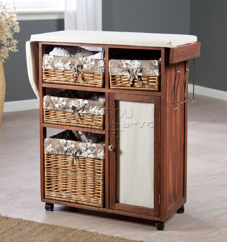 Rattan Living Room Cabinet
