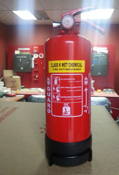 CLASS K FIRE EXTINGUISHER FOR KITCHEN