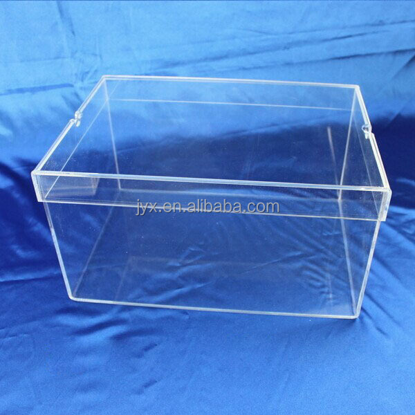 Acrylic shoe packing box, perspex shoe box