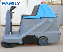 warehouse vacuum sweeper truck leaf street floor sweeper cleaning machine
