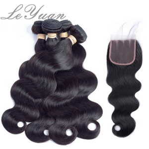 Wholesale Supply Brazilian Virgin Hair Body Wave With Closure