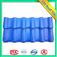 Spanish Heat Preservation Asa Synthetic Resin Roof Tile