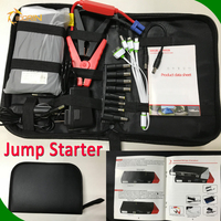 Oem Portable mini Multi functions super power lithium jump starter manual for car battery Emergency car tool kit 12v 24v