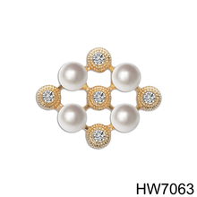 Brooch Jewelry for Wedding Invitation Brooch with Pearl