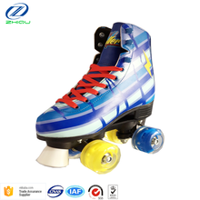 High quality Popular sale PU flashing lights wheels soy luna 4 ruedas quad roller skates wholesale with cheap price