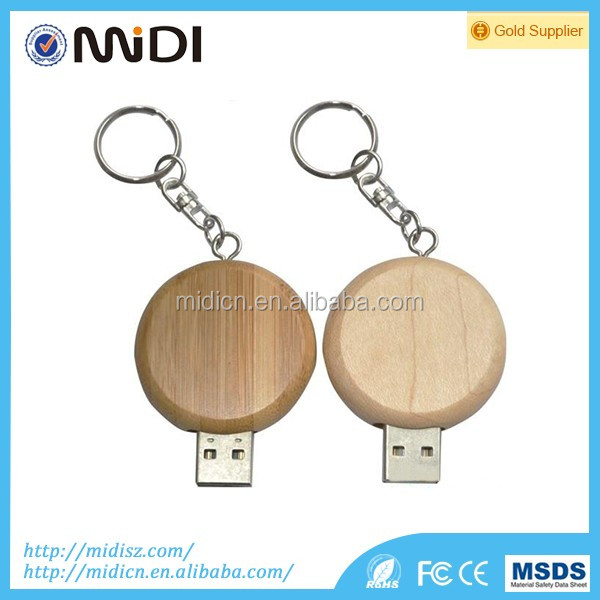 Best wedding gift custom logo wooden usb with wooden box, logo printing usb stick