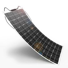 Flexible 100w mono solar panel for boat