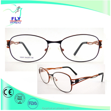 ellipse stainless steel eyeglass optical frames wholesale hollow design no MOQ