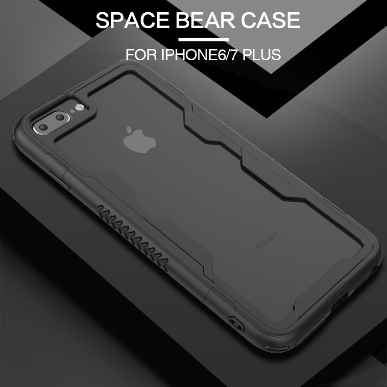 Hot Product tpu pc frame bumper cases for iphone 7 plus bumper cover