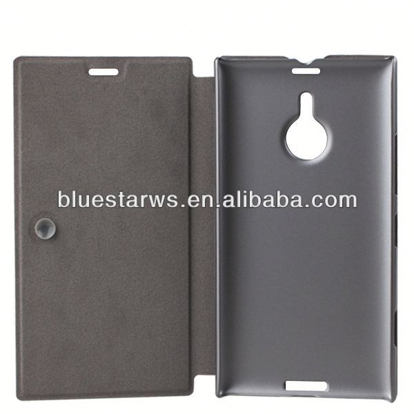 for nokia lumia 1520 folding leather case 2014 new design for nokia lumia 1520 leather case