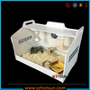 Acrylic Pet Reptile Display Rack Case/Cages, Reptile/Pet Display Cages, Pet Display