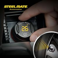 Hot sell steelmate TP-70 B wireless DIY tpms 2014 new promotional products novelty items,tire air gauge, tire repair instruments
