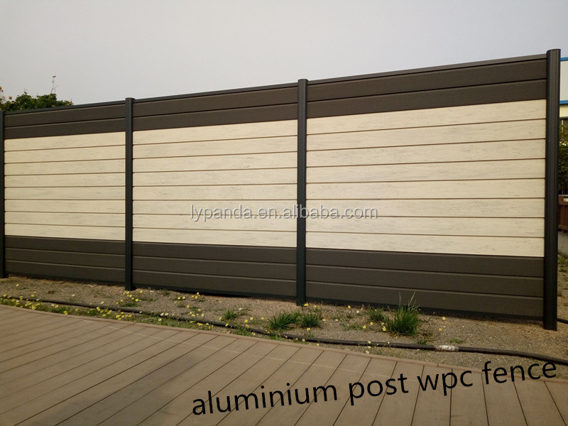 good design kinds of types wpc wood fence board garden fencing