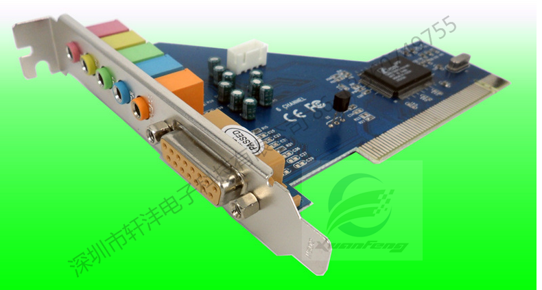 PCI sound card PCIE SOUND CARD CMI8738 4.1/5.1/7.1