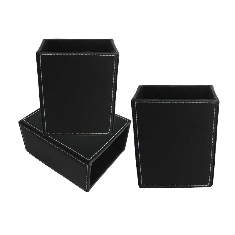 Round combined practice desk stationery storage holder
