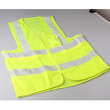 High quality custom high visibility vests strips