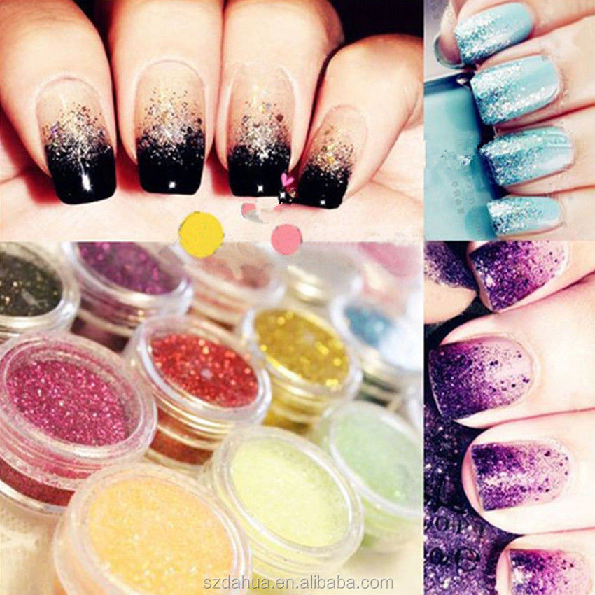 wholesale Cosmetic Loose Glitter, Loose Glitter Powders for Nail Polish
