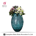 Fashional Cylinder Glass Vase With Colored In Different Types Glass Wase