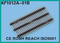 2.54mm 1*40 single row pin header straight board spaces 3 plastics