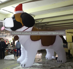 advertising inflatable husky dog for advertising sale