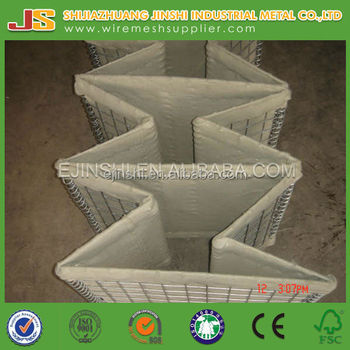high quality galfan galvanized blast wall for military