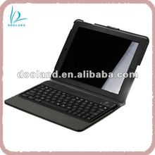 Hot for ipad bluetooth keyboard leather case