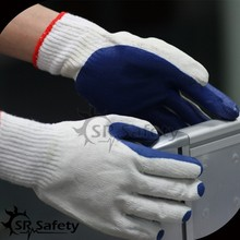 SRSAFETY latex rubber laminated mining safety glove